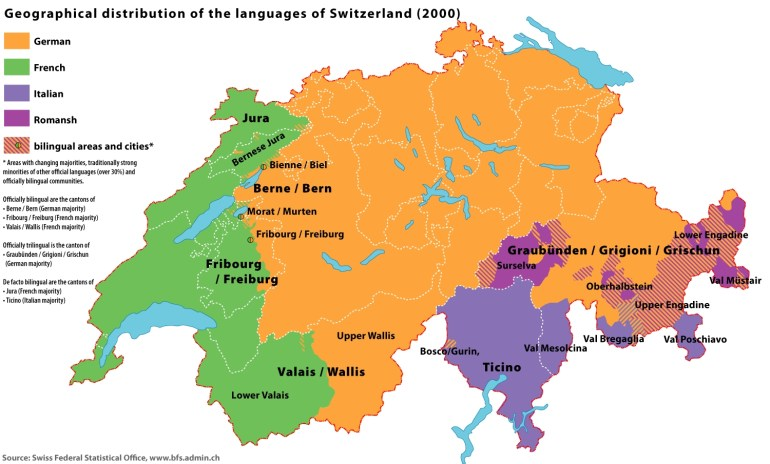Swiss French - Wikipedia with France Germany Switzerland Map