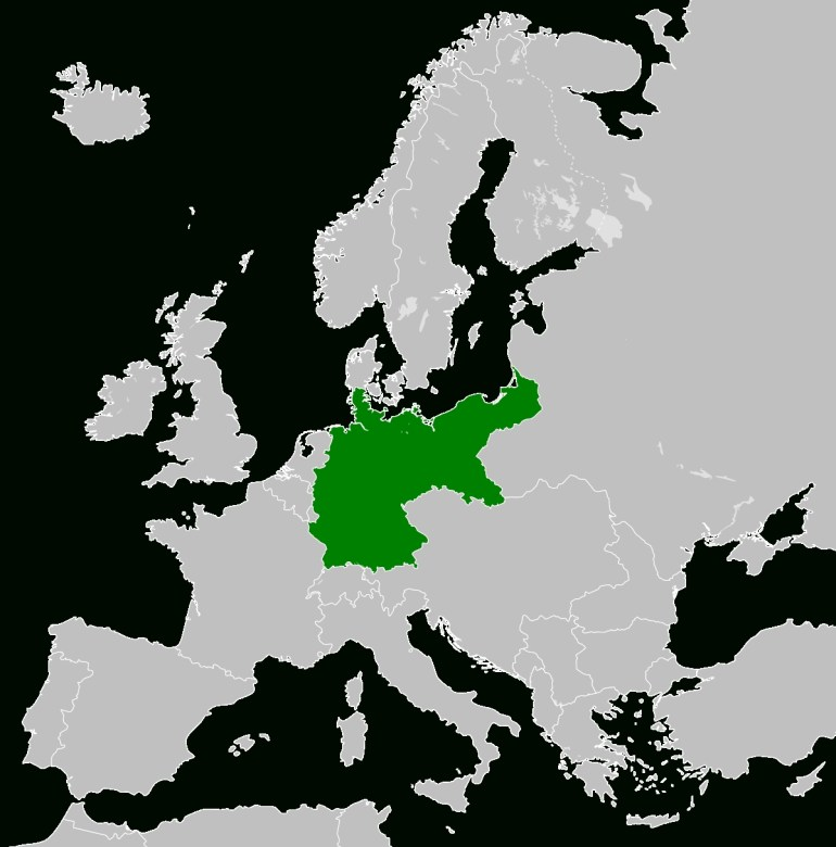 Territorial Evolution Of Germany - Wikipedia in Germany Map Before Ww1 And After