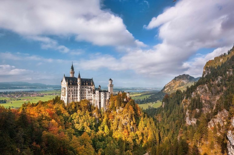 The King Ludwig Way | Macs Adventure throughout Ludwig Castles Germany Map