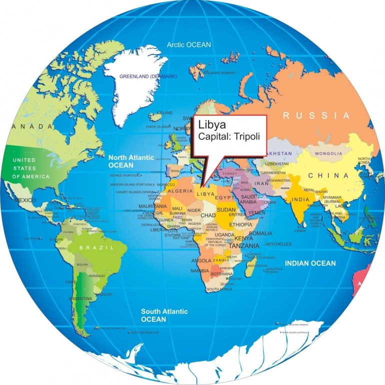Where Is Libya On The World Map And Travel Information   Download with regard to Show Germany In World Map
