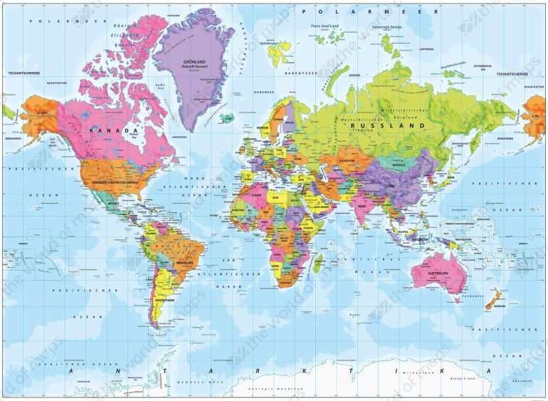 World Map Germany   Sin-Ridt throughout Where Is Germany Located On The World Map