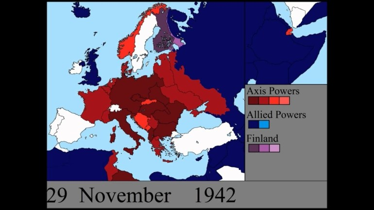 World War Ii In Europe: Every Day with regard to Map Of Germany After Ww2