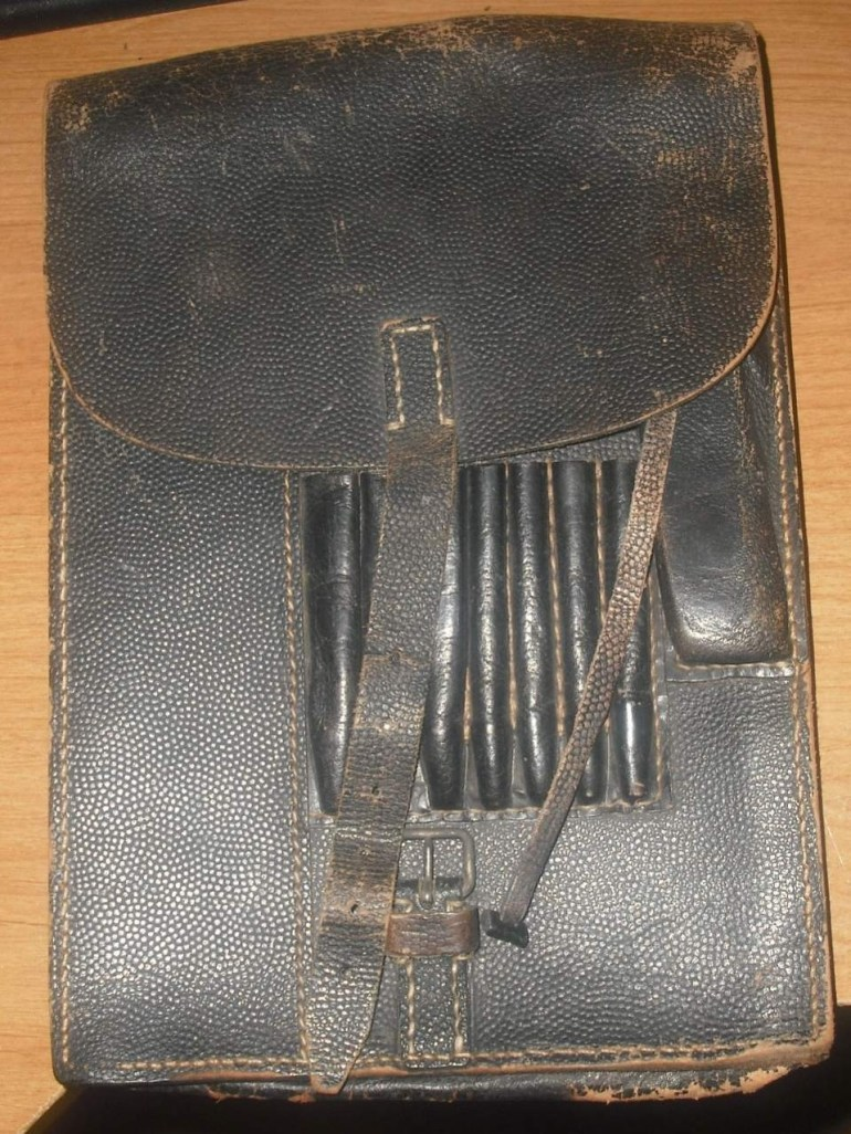 Wwii German Map Case Rbnr Wwii Era? intended for Ww2 German Map Case