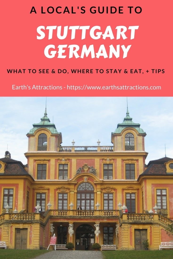 A Local'S Guide To Stuttgart, Germany - Earth'S for Tourist Map Of Stuttgart Germany