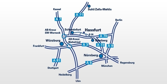 Unicor » How To Reach Us pertaining to Stuttgart Airport Route Map