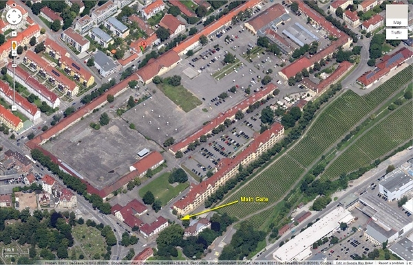 Usareur Units - 66Th Mi Brigade for Google Maps Stuttgart Verkehrslage