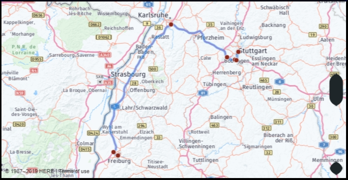 What Is The Distance From Freiburg Germany To Stuttgart in Google Maps Stuttgart Kaltental