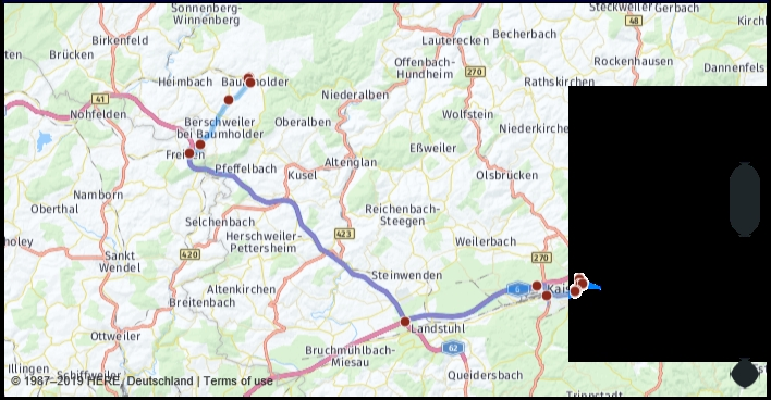What Is The Driving Distance From Baumholder Germany To intended for Google Maps Traffic Stuttgart Germany