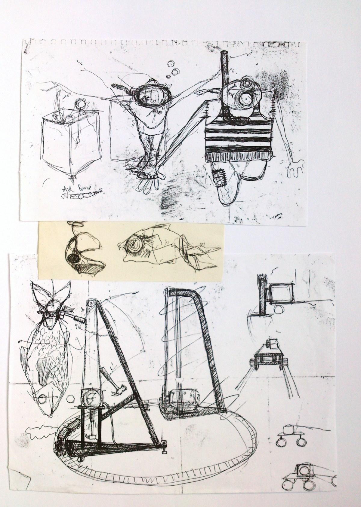 Benjamin Oliver Sketch 10