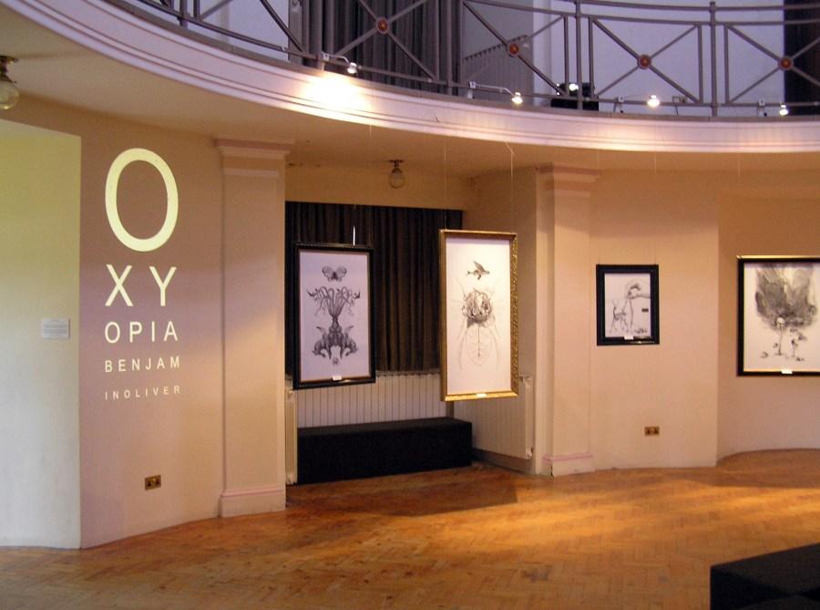 Benjamin Oliver OXYOPIA exhibition #06- Photo courtesy of Julia Norman