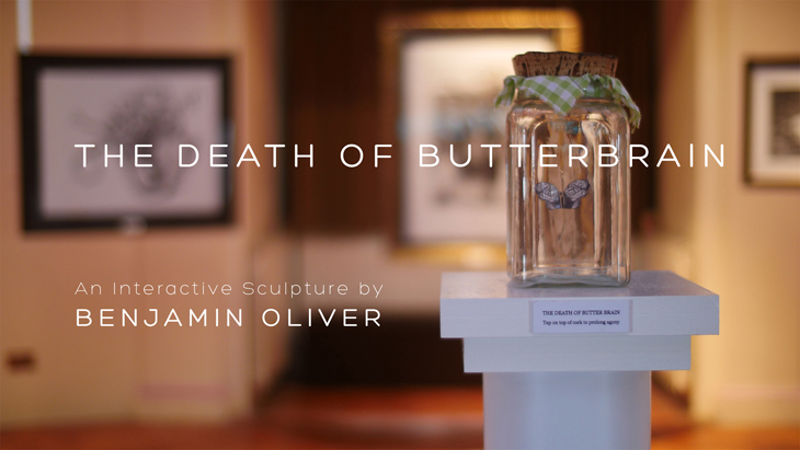 Benjamin Oliver OXYOPIA The Death of Butterbrain Oxyopia