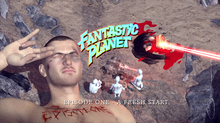 Benjamin Oliver Fantastic Planet A Fresh Start Oxyopia