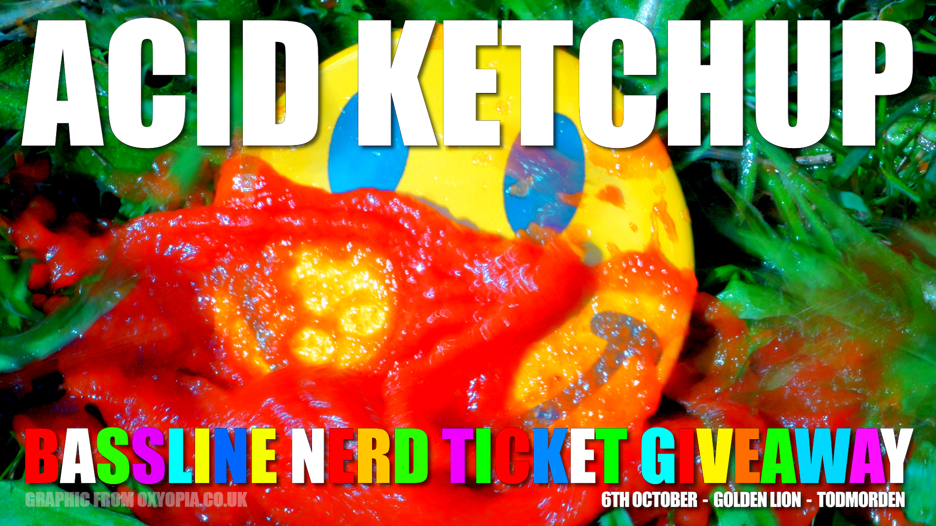 Acid Ketchup Bassline Nerd Ticket Give-Away film #02