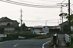 青巖寺旅行のバス