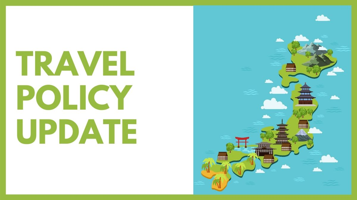 Update on Travel Policy