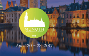 Model United Nations of The Hague 2017