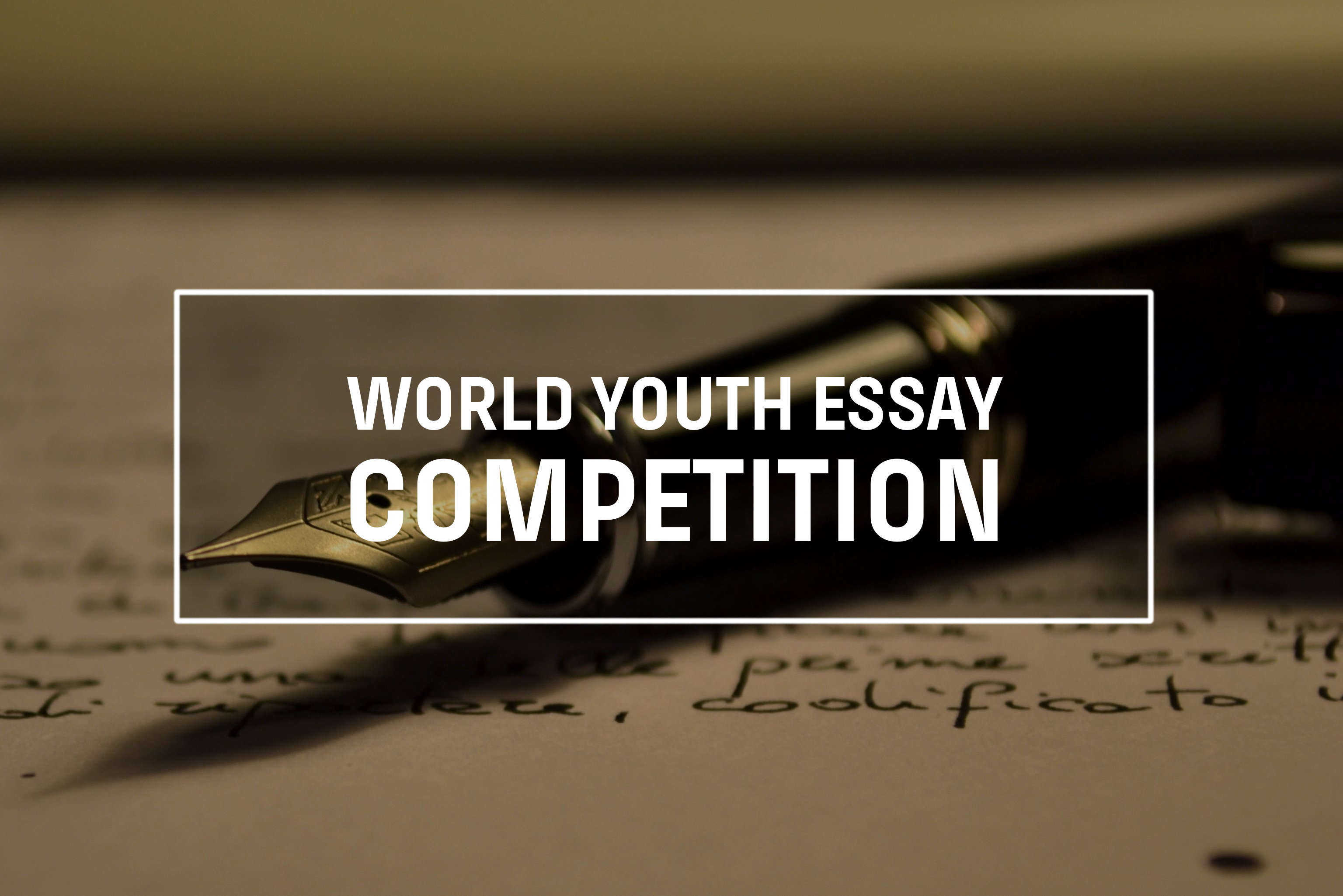international youth essay competition This week's economic reform feature service articles highlight the final two winning essays from cipe's 2011 international youth essay competition riska mirzalina and ruth nyambura, the second and third place winners respectively in the corruption category, discuss how youth in their countries can engage in anti-corruption.