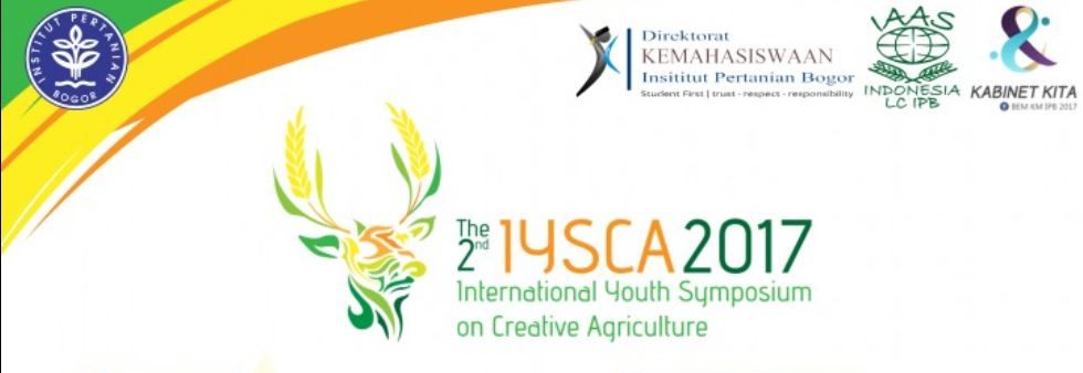 International Youth Symposium on Creative Agriculture ( IYSCA ) 2017 in Indonesia