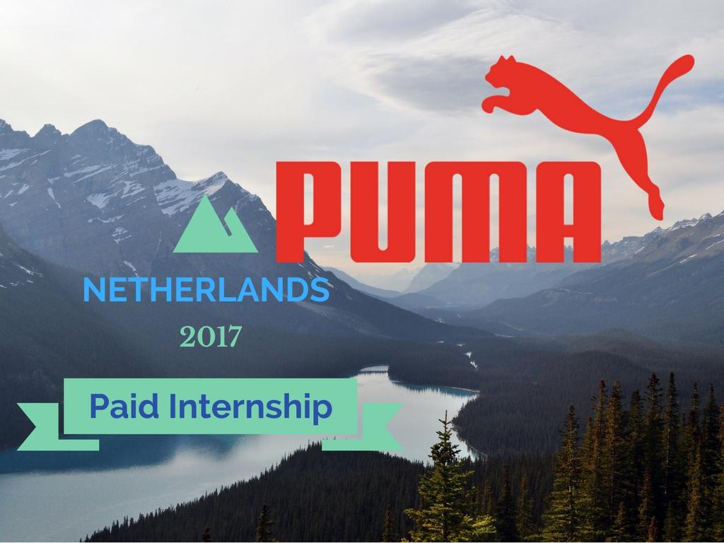 PUMA Internship 2017 in Netherland