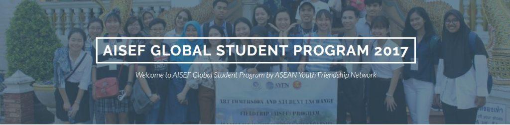 AISEF Global Student Program in Thailand