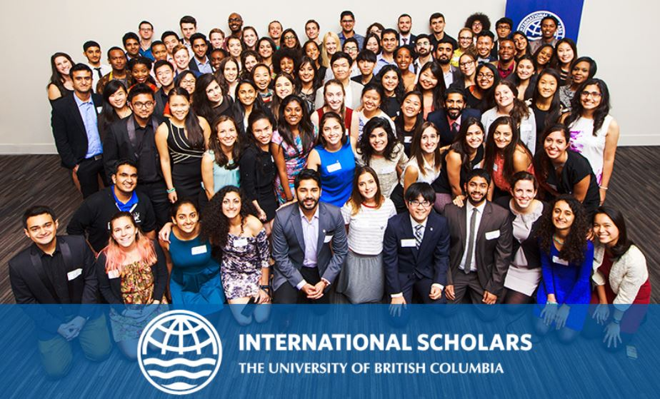 International Leader of Tomorrow Award 2018 at The University of British Columbia (Funded)