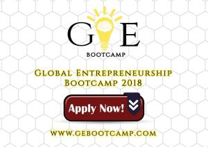 Global Entrepreneurship Bootcamp 2018 in Bangkok (Funding Available)