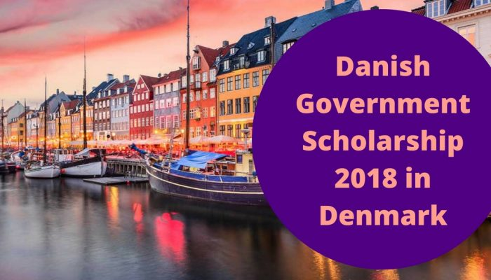Danish Government Scholarship 2018 in Denmark