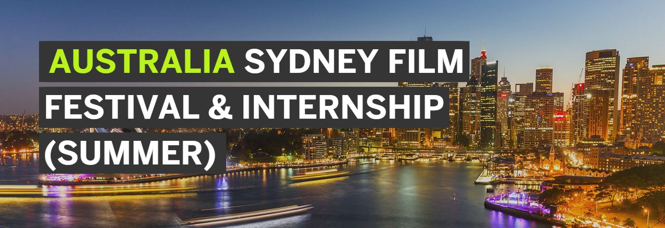 Sydney Film Festival and Internship Program 2018
