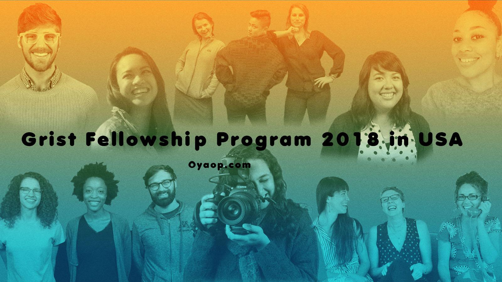Grist Fellowship Program 2018 in USA