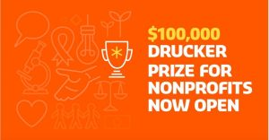 The Drucker Prize 2018 ($100,000 Award and more!)