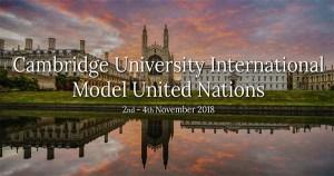 Cambridge University International Model United Nations in London
