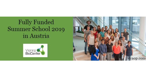 Fully Funded Summer School