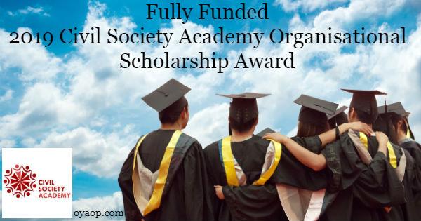 Organisational Scholarship Award
