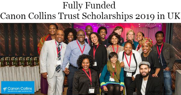 Canon Collins Trust Scholarships