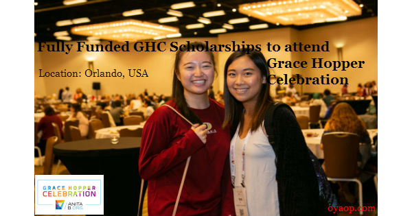 Fully Funded GHC Scholarships
