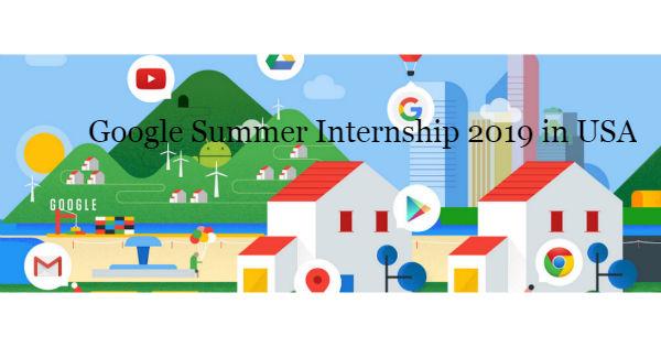 Google Summer Internship