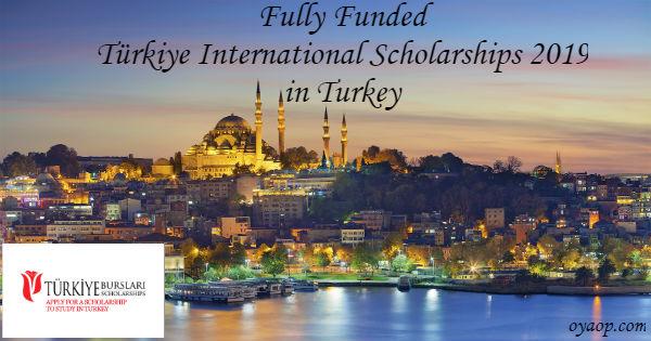 Türkiye International Scholarships