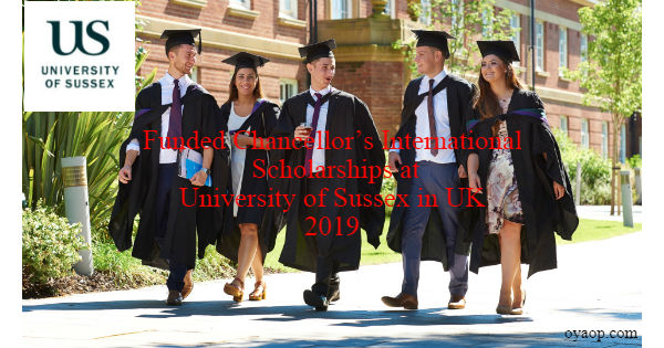 Funded Chancellor's International Scholarships
