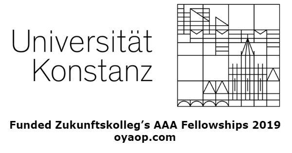 Funded Zukunftskolleg's AAA Fellowships 2019