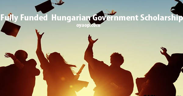 Fully Funded Hungarian Government Scholarship 2019