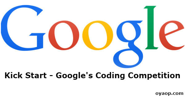 Kick Start - Google's Coding Competition