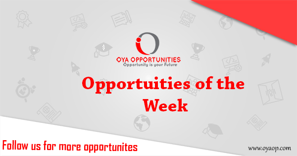 Opportunities of the week