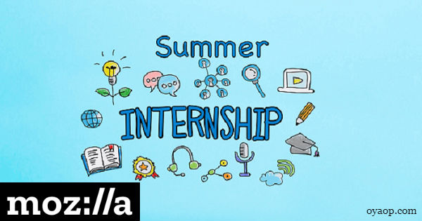 Mozilla Summer Internship