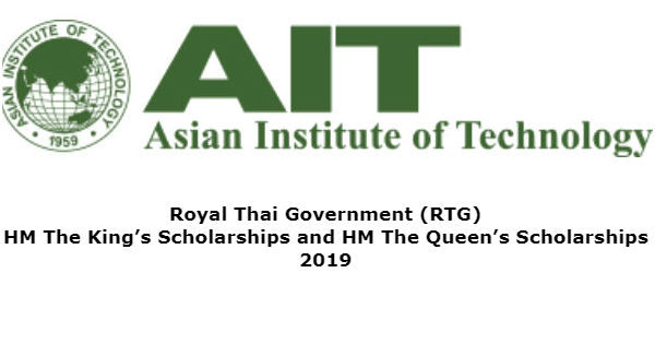 2019 HM The King's Scholarships and HM The Queen's Scholarships