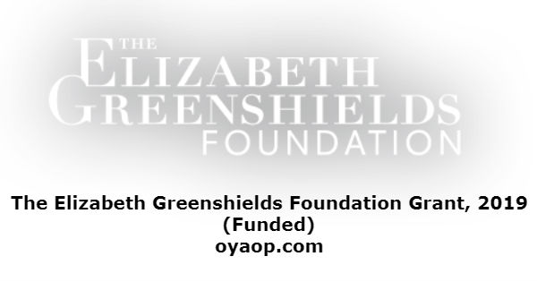 The Elizabeth Greenshields Foundation Grant, 2019 (Funded)