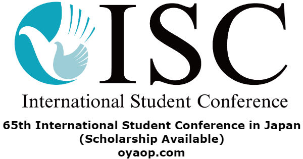 65th International Student Conference in Japan(Scholarship Available)