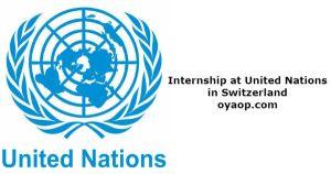 Internship at United Nations in Switzerland