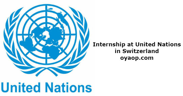 Internship at United Nations in Switzerland