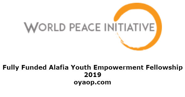 Fully Funded Alafia Youth Empowerment Fellowship 2019