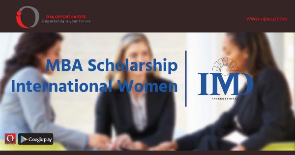 MBA Scholarship for International Women